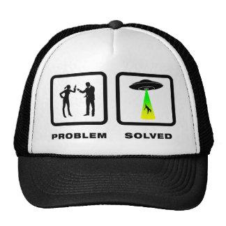 Alien Abduction Mesh Hats