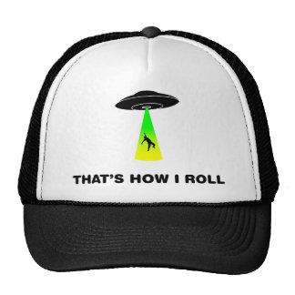 Alien Abduction Mesh Hat