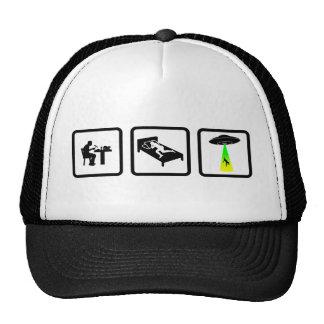 Alien Abduction Trucker Hats