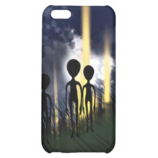 Alien Abduction iPhone 5C Cases