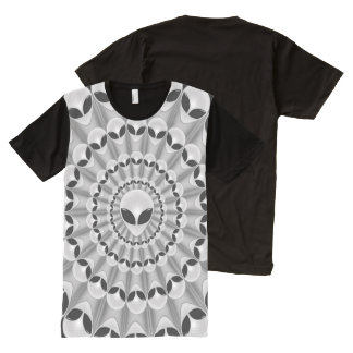 Alien Abduction All-Over Print T-Shirt