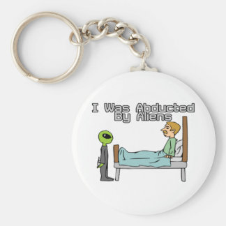 Alien Abduction Key Ring