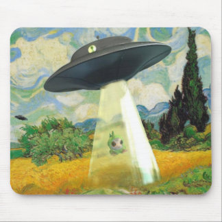 Alien Abduction Mouse Mat
