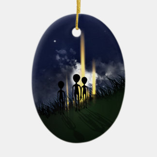 Alien Abduction Ornament (double sided)