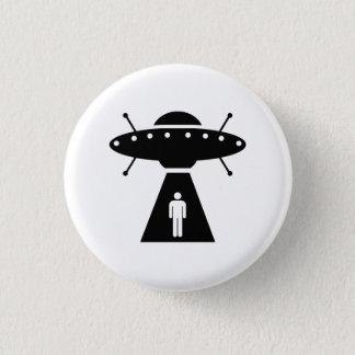 Alien Abduction Pictogram Button
