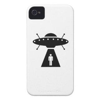 Alien Abduction Pictogram iPhone 4 Case