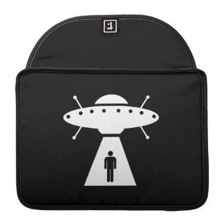 Alien Abduction Pictogram MacBook Pro Sleeve