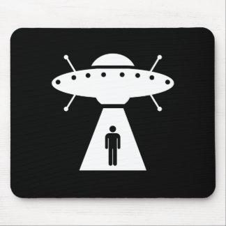 Alien Abduction Pictogram Mousepad