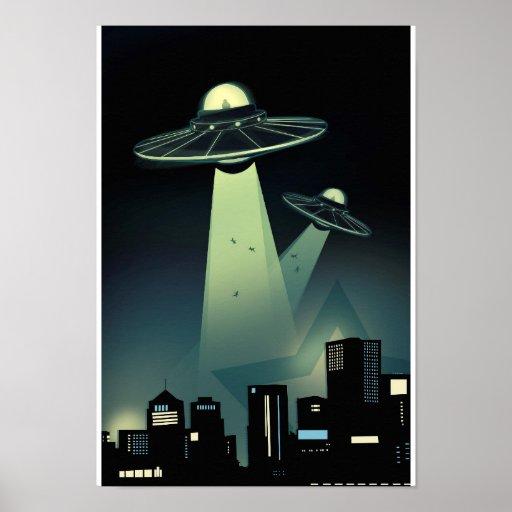 Alien Abduction Poster Larger