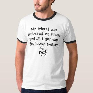 Alien Abduction Souvenir T-Shirt