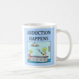 alien abduction ufo joke., alien abduction ufo ... coffee mug