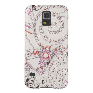 Alien Alphabet Tangle 2 Galaxy S5 Cover