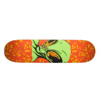 Alien and Butterfly Skateboard