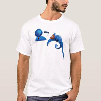 Alien and Chameleon T-Shirt