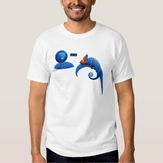 Alien and Chameleon T Shirts