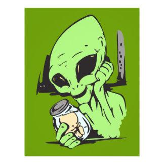 Alien and Human Baby Specimen 21.5 Cm X 28 Cm Flyer