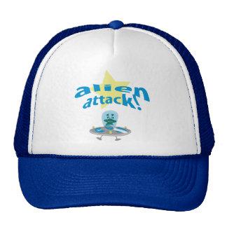 alien attack cap