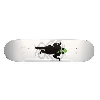 Alien attitude custom skate board