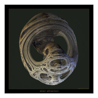alien attraction poster