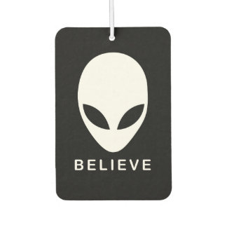 Alien Believe Car Air Freshener