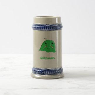Alien blob mug