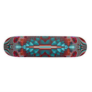 Alien Blue Scale Skateboard