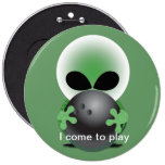 Alien bowler pin