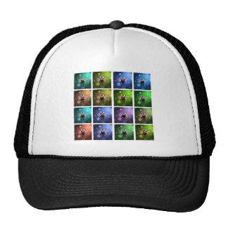 alien bug mesh hat
