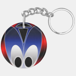 Alien Bug Circle (single-sided) Keychain