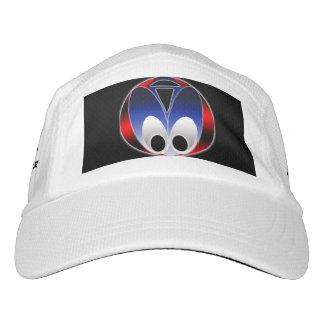 Alien Bug Performance Hat, White Hat