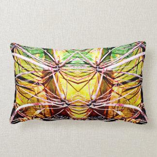 Alien Cactus Custom Lumbar Throw Pillow