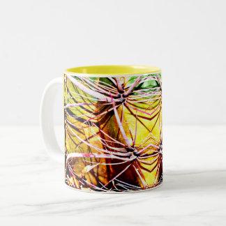 Alien Cactus Two Tone Coffee Mug