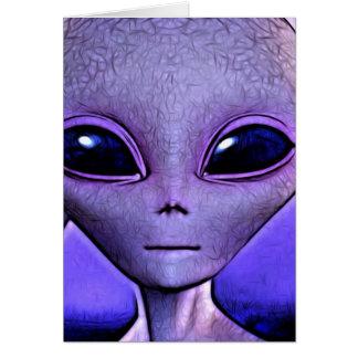 Alien Card