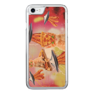 alien cats and the ufos carved iPhone 8/7 case