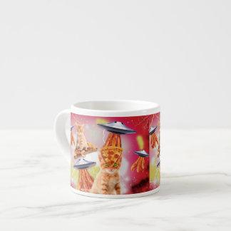 alien cats and the ufos espresso mug