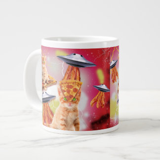 alien cats and the ufos jumbo mug