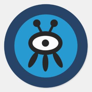 Alien Character Sticker Sheet