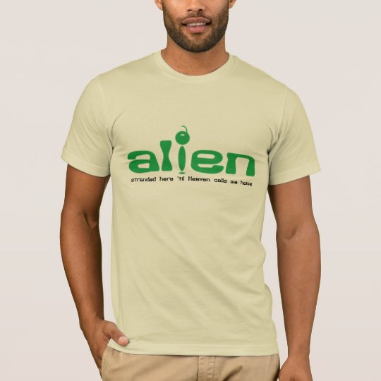 Alien Christian t-shirt