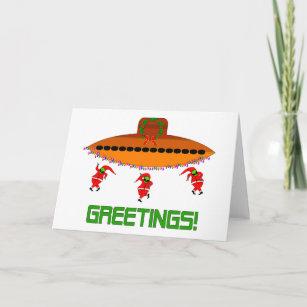 Alternative christmas cards invitations zazzle alien christmas m4hsunfo