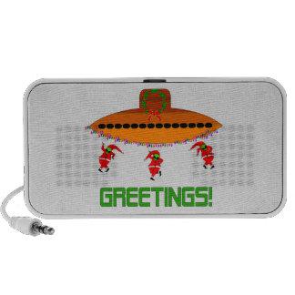 Alien Christmas iPod Speaker