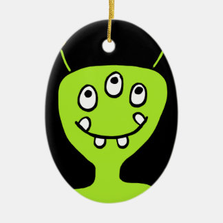 Alien Christmas Ornament