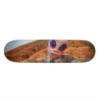 Alien Custom Skateboard