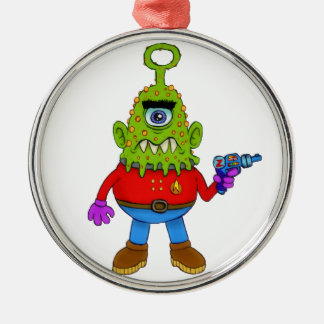 Alien Cyclops Beasty Christmas Ornament