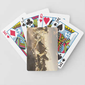 Alien Desert Canyon in the Clouds Bicycle Playing Cards