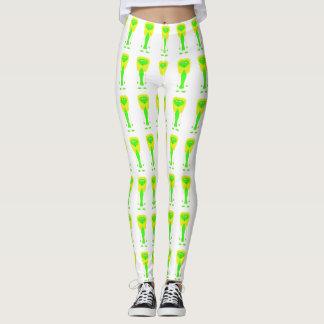 Alien design leggings
