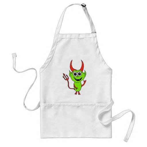 Alien Devil Apron