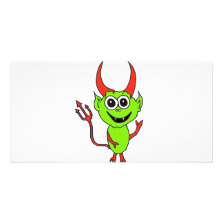 Alien Devil Picture Card