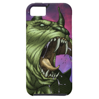 Alien Dog Monster Warrior by Al Rio iPhone 5/5S Cases