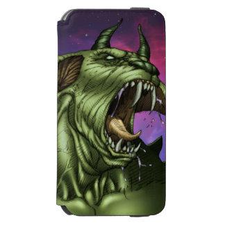Alien Dog Monster Warrior by Al Rio Incipio Watson™ iPhone 6 Wallet Case