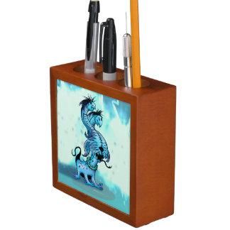 ALIEN  DOGGY  MONSTER ORGANISER Pencil/Pen HOLDER